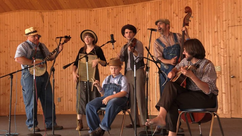 Uncle Shuffelo And His Haint Hollow Hootenanny at the DeKalb County Fiddler's Convention